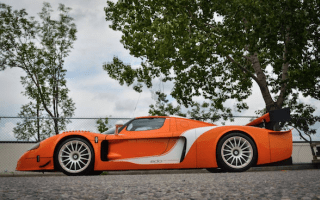 High-powered Maserati MC12 spotted for sale