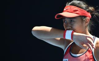 I feel like I won the Australian Open - Zhang