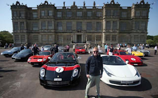 Fans to drive Chris Evans' fleet of exotic motors