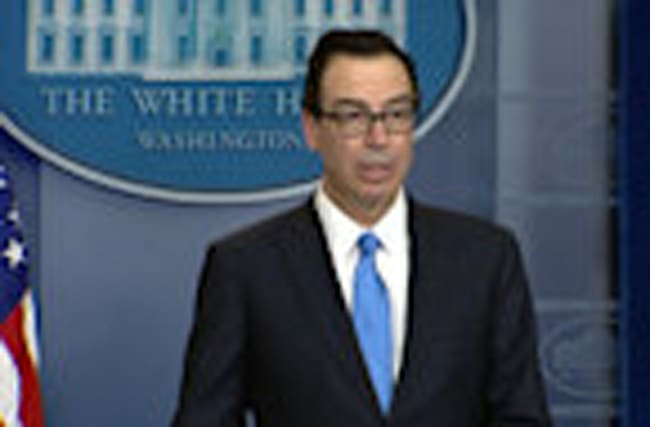 U.S slaps sanctions on 271 Syrian govt. employees: Mnuchin