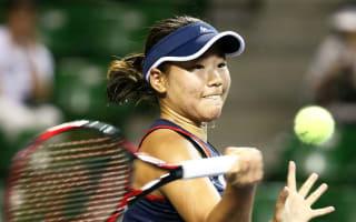 Hibino begins Tashkent defence with comfortable victory