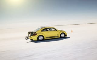 Specially-modified VW Beetle hits 205mph
