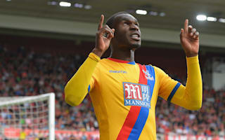 Middlesbrough 1 Crystal Palace 2: Zaha, Benteke secure Eagles' first win