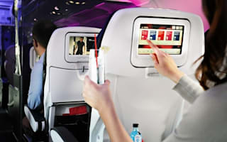 Virgin launches 'in-flight flirting' seatback system