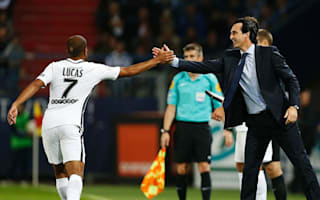 Emery hails PSG mentality after Caen thrashing