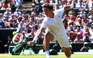 Raonic ends Querrey's Wimbledon fairytale