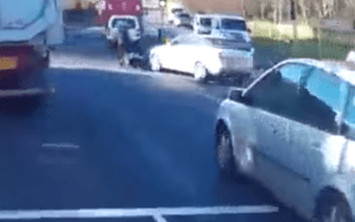 Road-rage incident caught on camera in Southampton