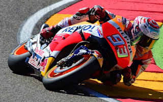 Dominant Marquez equals Lorenzo pole record in Aragon