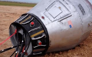 Roadside 'space capsule' turns out to be art