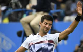 Djokovic into Eastbourne quarters as rain causes further backlog