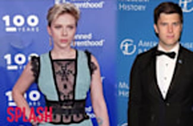 Scarlett Johansson Hooked Up With SNL's Colin Jost