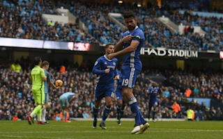 Costa breathes sigh of relief as De Bruyne and Man City misfire