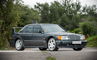 Low-mileage Mercedes-Benz 190E Evo II expected to fetch £220k