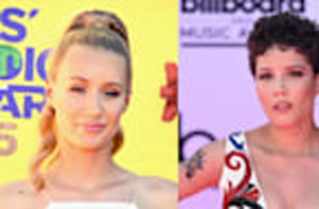 "Iggy Azalea RESPONDS To Halsey Calling Her A ""F**king Moron"""