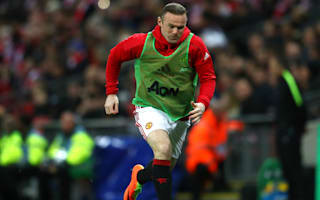 Rooney to miss Manchester United's clash with Anderlecht