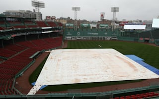 Red Sox-Indians match postponed by rain, rescheduled for Monday