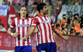 Filipe Luis hopes for Costa return