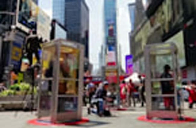 New Yorkers dial into immigrant stories in phone booths