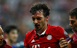Bayern calm Hummels injury fears