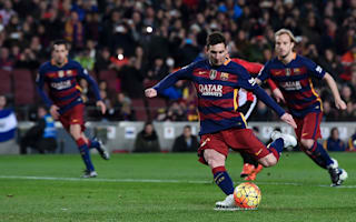 Barcelona 6 Athletic Bilbao 0: Injury scare for Messi in thumping win