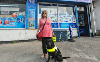 Blind grandmother and her guide dog thrown out of shop