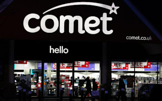 Last day for remaining Comet shops