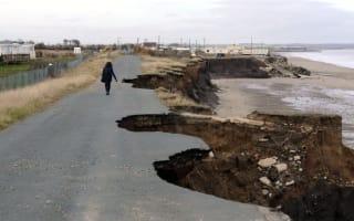 200 UK homes to vanish in coastal erosion