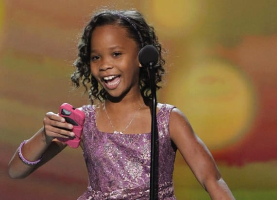 OMG! Quvenzhane Wallis is all grown up at BET Awards