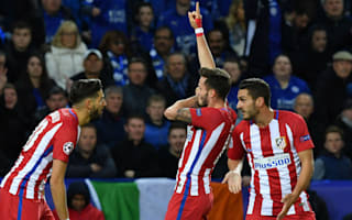 Leicester City 1 Atletico Madrid 1 (1-2 agg): They think it's Saul over...it is now