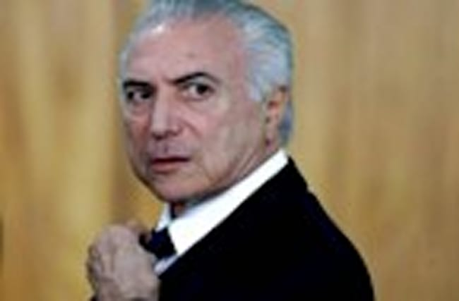 Brazil's president says corruption charge is 'fiction'