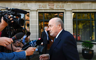 Blatter will accept CAS ruling