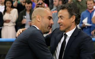 Luis Enrique: Critics frustrated by Guardiola's success