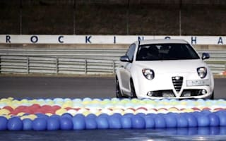 Video: One little Alfa Romeo takes on lots of... balloons?
