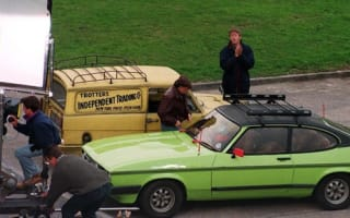 Del Boy's Ford Capri 'pratmobile' up for auction