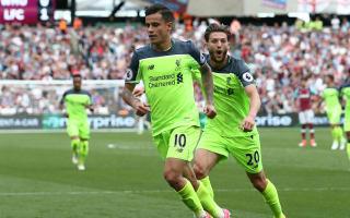 West Ham 0 Liverpool 4: Coutinho stars as Klopp's men run riot