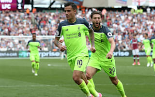 West Ham 0 Liverpool 4: Coutinho stars as Klopp's men run riot