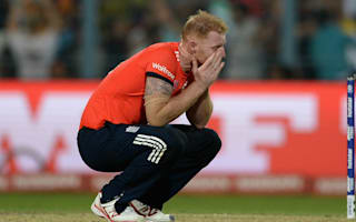 It was like the whole world had come down on me - Stokes on World T20 finale