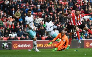 Sunderland 2 West Ham 2: Borini snatches point but Moyes' men still in trouble