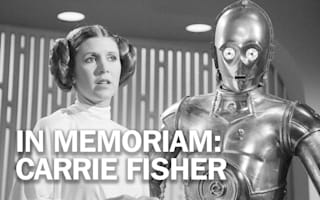 Carrie Fisher felt the force of Stars War fame