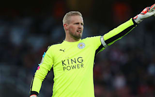 Shakespeare expects Schmeichel to stay despite Man United and Madrid talk