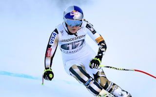 Vonn back on top in just second race after injury comeback
