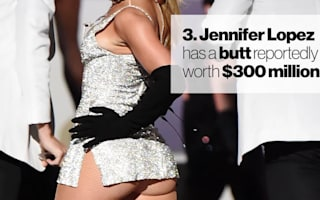 Celebrities with insured body parts