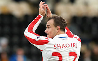 Hughes offers Hitzfeld Stoke invite after Shaqiri comments