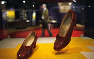 Wizard of Oz ruby slippers saved thanks to Kickstarter campaign