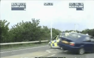 Video: Surrey cop Tasers the car thief who ran him over