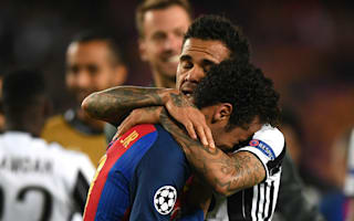Dani Alves reveals how he consoled Neymar