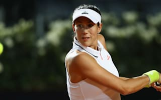 Muguruza and Halep build momentum in Rome