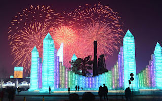 Enormous 'Ice City' appears in China for Harbin Festival