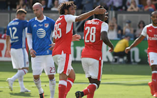 MLS All-Stars 1 Arsenal 2: Premier League giants win late as Xhaka makes debut
