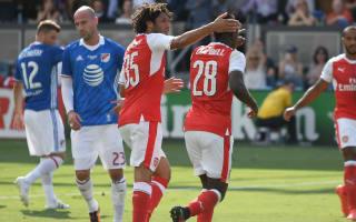 MLS All-Stars 1 Arsenal 2: Premier League giants win late as Xhaka makes debut
